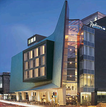 Radisson SAS Hotel, Glasgow, UK
