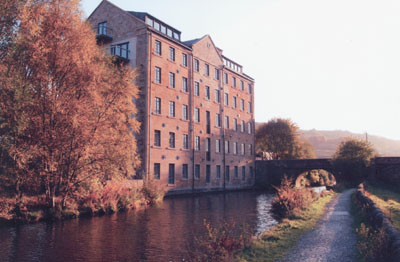 Woodhouse Mill, Todmorden, UK