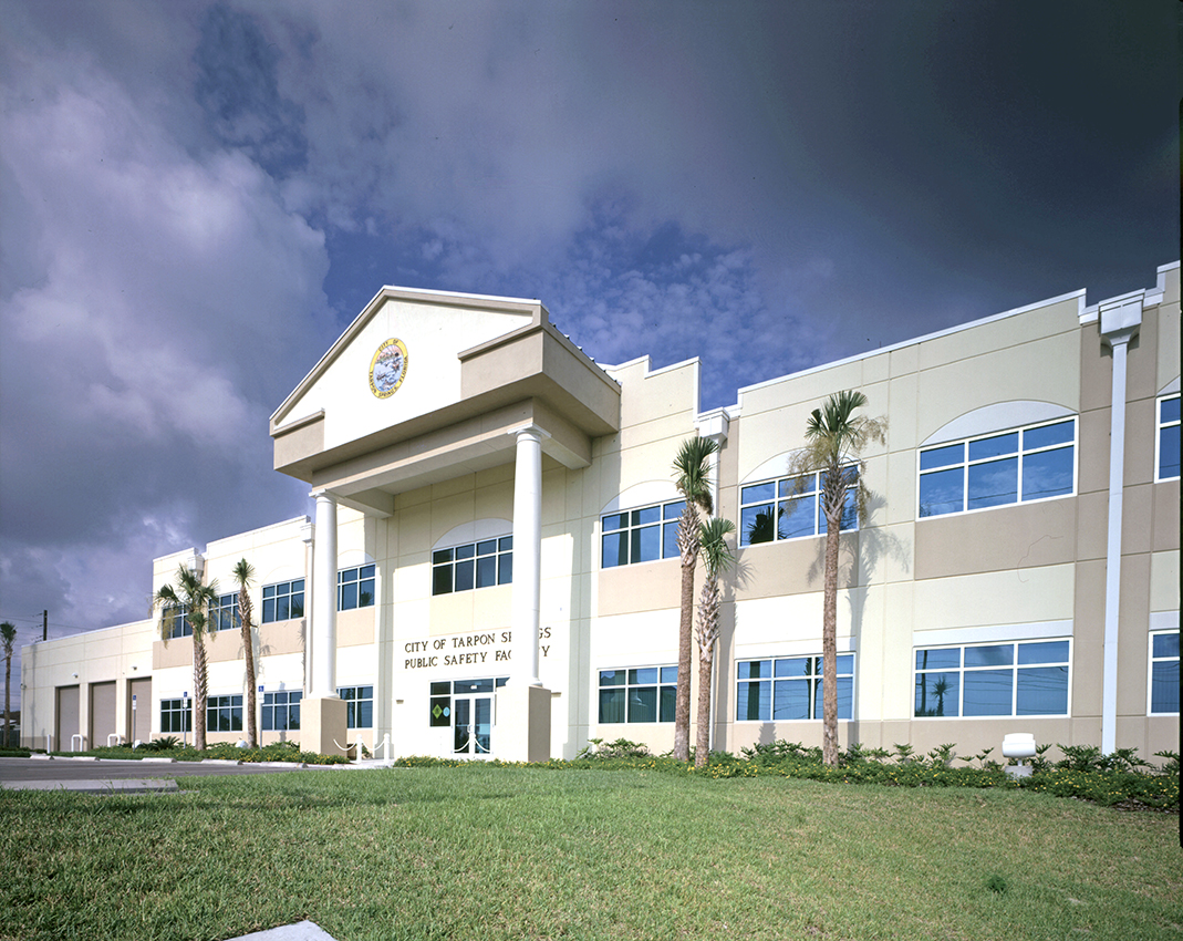 Tarpon Springs Public Safety Building, FL, USA; Gee & Jenson Engineers Architects Planners Inc, FL,