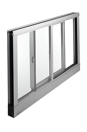 Single Slide AA®3350 IsoPort™ Window