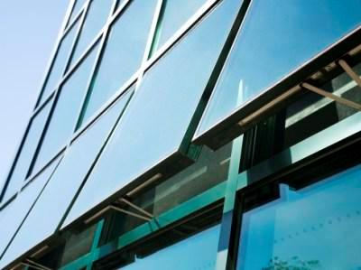 Architectural Aluminum Windows for Curtain Walls, Exterior Glass Walls