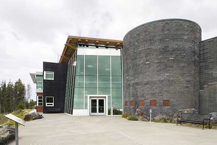 Alaska Islands and Ocean Visitor Center, Homer, Alaska | RIM Architects, Anchorage,  AK | 1600 Wall