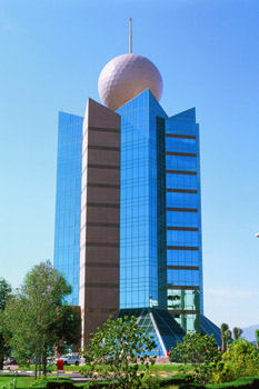 Etisalat Building, Fujairah, UAE; The Webb Zurafa Menkes Housden Partnership, Canada