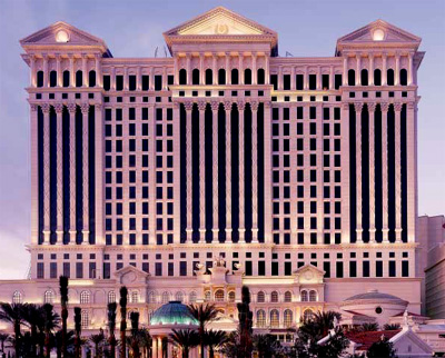 Caesars Palace Tower, NV, USA; Bergman, Walls and Youngblood Ltd. Architects, NV, USA