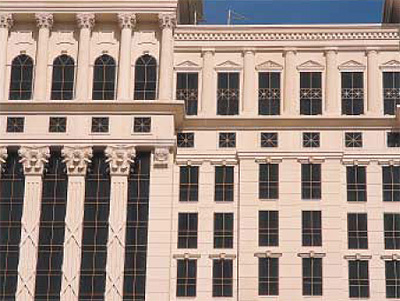 Caesars Palace Tower, NV; Bergman, Walls and Youngblood Ltd. Architects, NV