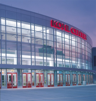 Kohl Center, Univ. of WI, USA; Hok Sport Facilities Group; Venture Architects; Heilein & Schrock