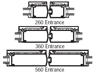 260/360/560 Insulclad® Thermal Entrances
