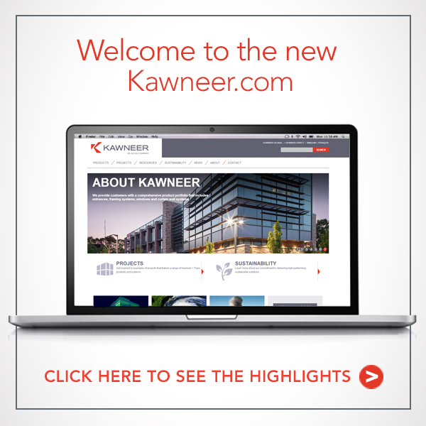 Welcome to the New Kawneer.com