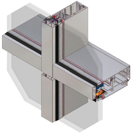 AA®201 Unitised Curtain Wall