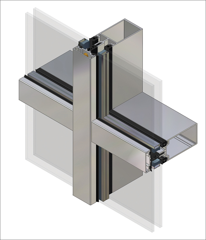 Kawneer launches next-generation curtain wall syst