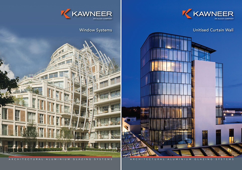 New window and unitised curtain wall brochures fro