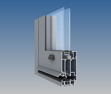 AA®545 Swing Door (Barrier Free Option)