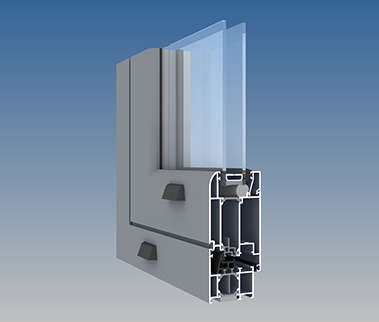 AA®545 Swing Door - Softline Option (Frame All Around Option)