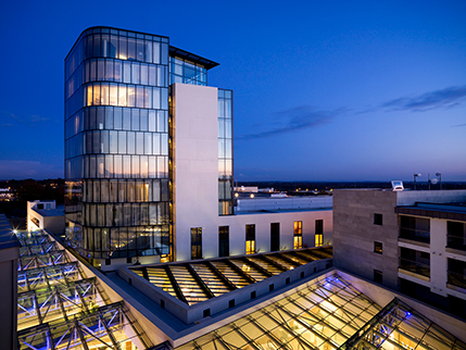 Sheraton Athlone Hotel, Ireland; Murray O'Laoire Architects