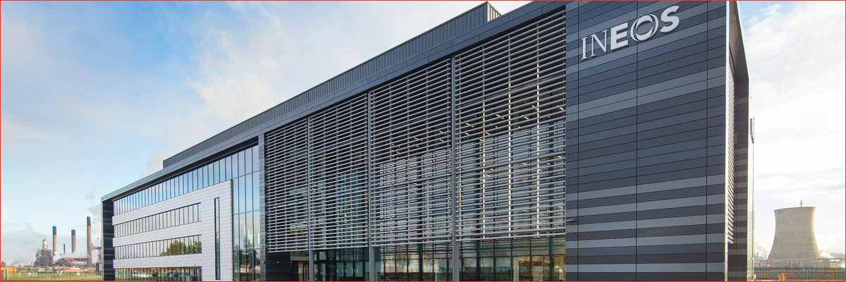 Project: INEOS HQ, Grangemouth<br/>Product: AA®110