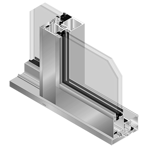 AA®3200M Thermal Sliding Door - exterior side
