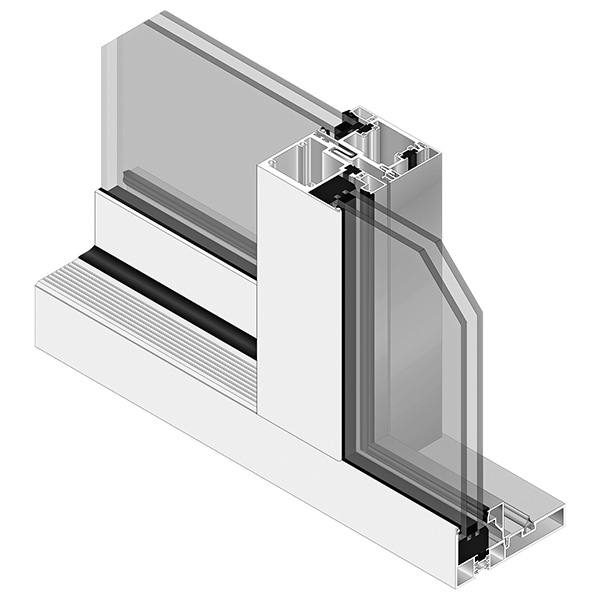 AA®3200M Thermal Sliding Door - interior side