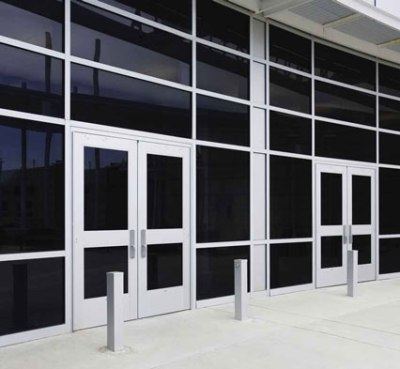 & Tuffline™ High Traffic Aluminum Storefront Entrances Systems by Kawneer