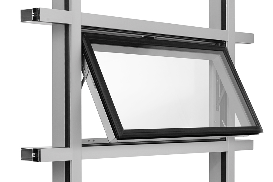 Commercial Aluminum Architectural Window Frames
