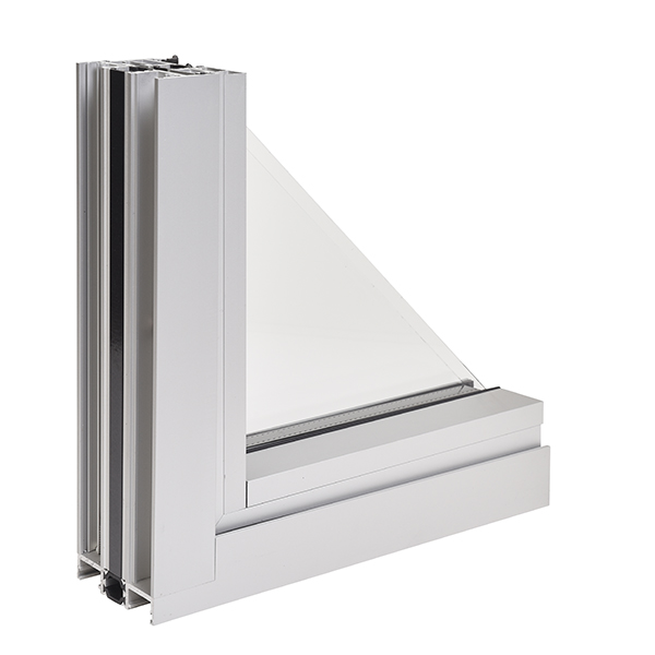 NX-300 Series Thermal Window _ Project-out (Corner Section Cut- Inside View)