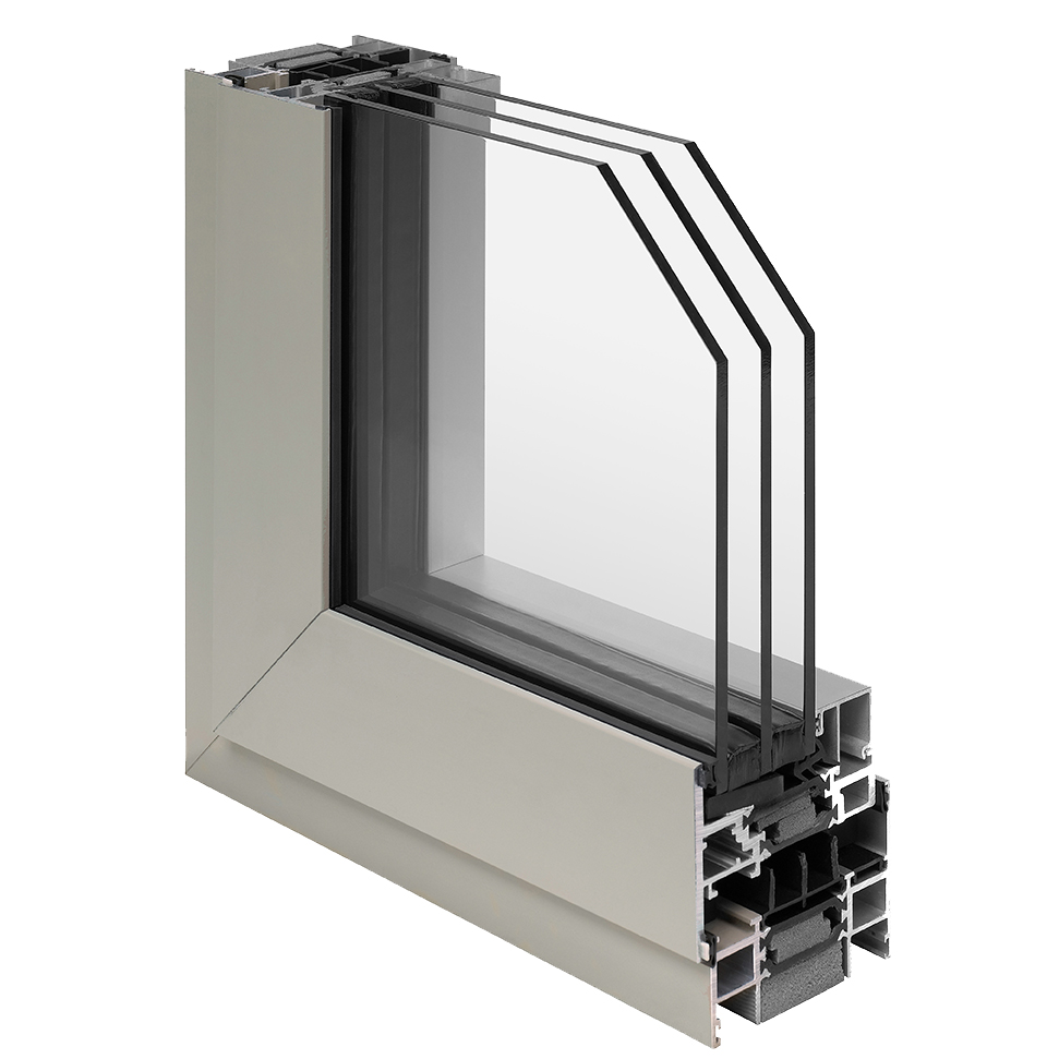 OptiQ Thermal Architectural Fixed, Projecting & Casement Windows, AA4325