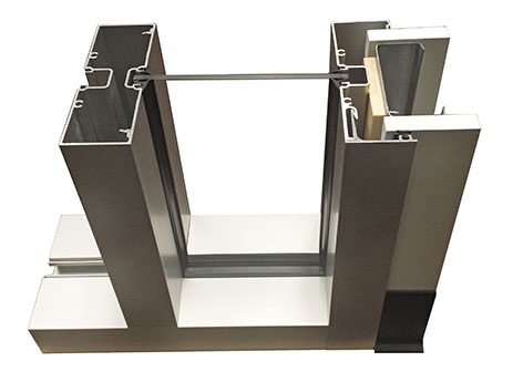 Center Glazed Aluminum Interior Framing System, InFrame™ by Kawneer