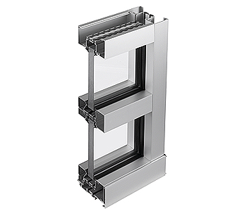 Trifab™ 451UT Framing System - Back Isometric