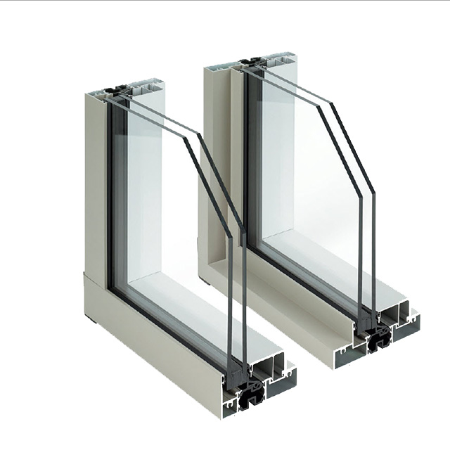 Side by side comparison of AA®6400 Thermal Window (Left) and AA®6500 Thermal Window (Right) - Fixed