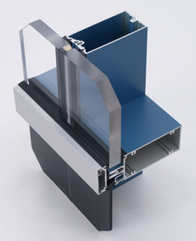 1600 SS (Screw Spline) Curtain Wall - SSG System