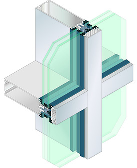 1620UT Curtain Wall System