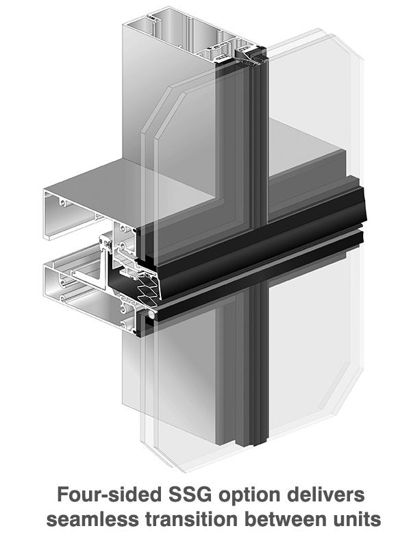 Insulated Glazing Storefront System : Ultra thermal pre glazed insulated curtain wall system
