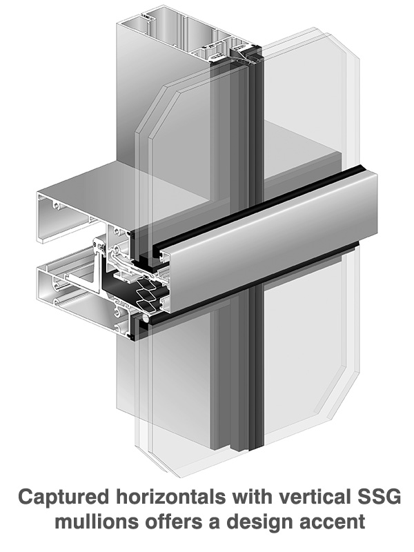 Thermal Glazing Systems : Ultra thermal pre glazed insulated curtain wall system