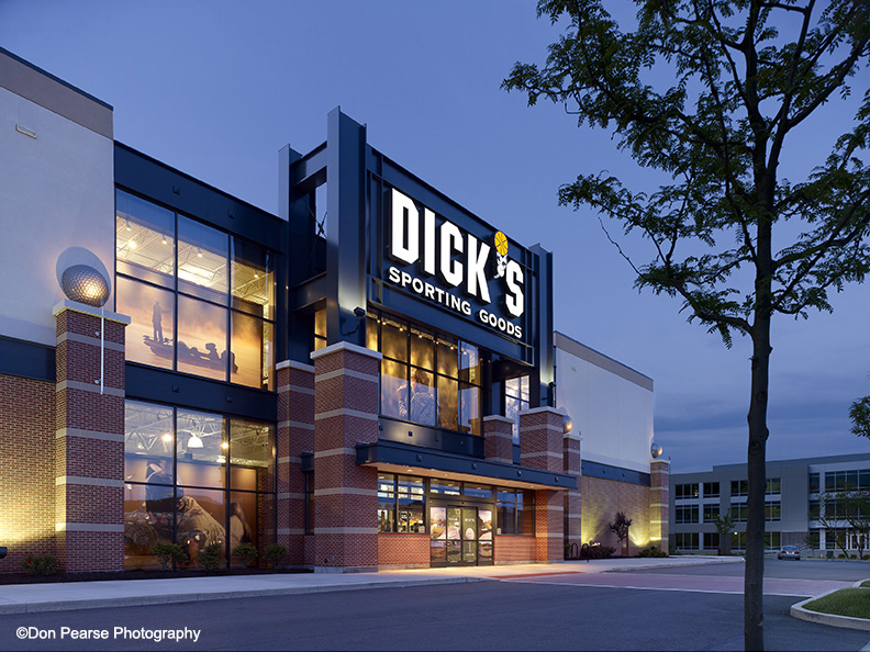 S Sporting Goods Cranberry Township Pa Architect Herschman Architects Cleveland