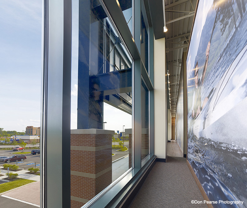 Hurricane Resistant Thermal Curved Curtain Wall Systems