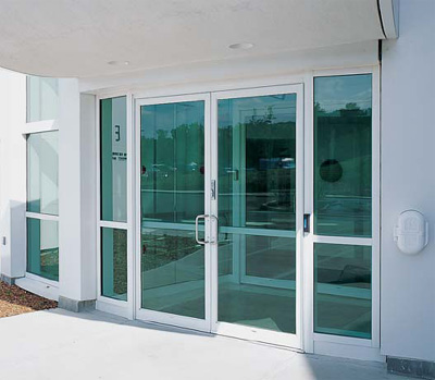 Kawneer's Standard Commercial Storefront Door Entrances, 190/350/500 on