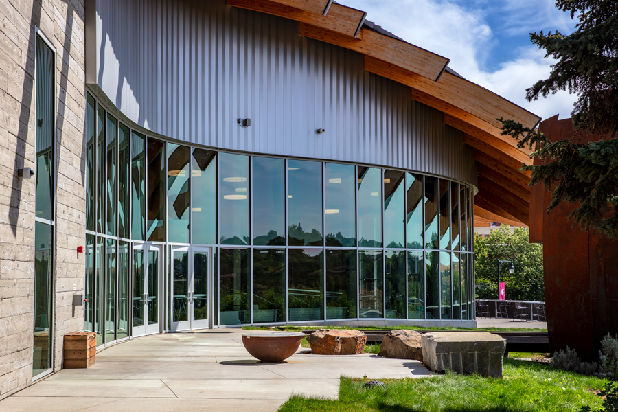 Elson S. Floyd Cultural Center, Washington State University/ Photo © Perzel Photography Group