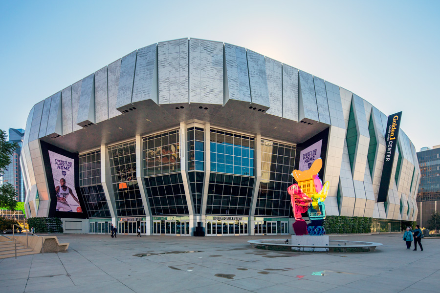 Golden 1 Center- Sacramento Kings Arena