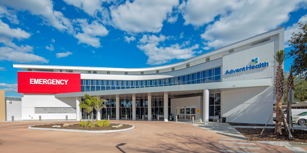 Florida Hospital Carrollwood Emergency Department Expansion, Tampa, Florida, USA | Photo ©Perzel Pho