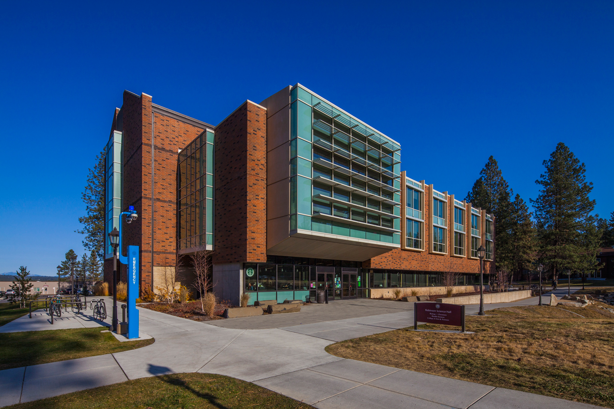 Whitworth Robinson Science Hall, Whitworth University, Spokane, WA - Photo® Bob Perzel