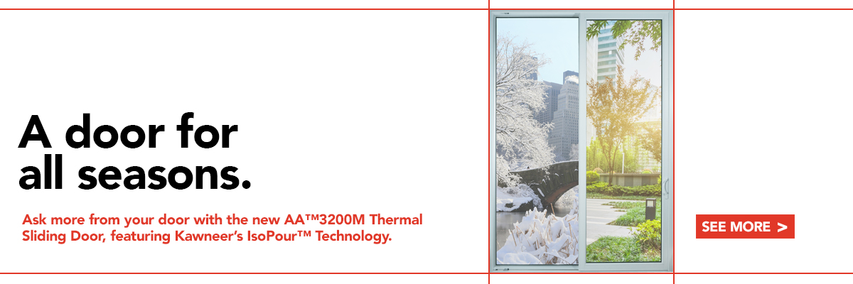 AA™3200M Thermal Sliding Door