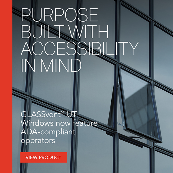 GLASSvent UT Window - ADA Compliance with Style