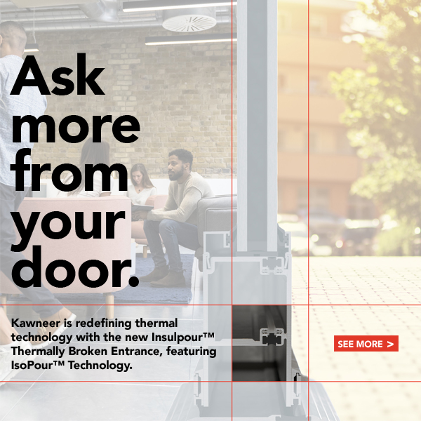 Insulpour™ Thermally Broken Entrance - Ask more from your door.