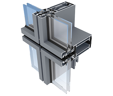 AA®265 Unitised Curtain Wall