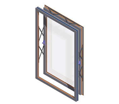 AA®601TE Parallel Opening Window