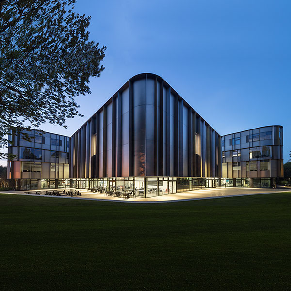 Sibson Building, University of Kent, Canterbury; Penoyre & Prasad