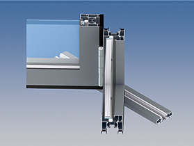 AA®3720 Folding/Sliding Door (Outside View)