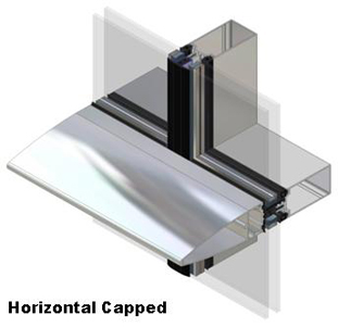 Products Curtain Wall Aa 174 100 50mm Curtain Wall System