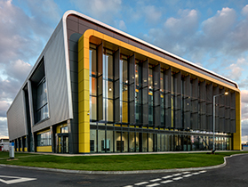 AIRC, Cranfield University, Bedfordshire: CPMG Architects
