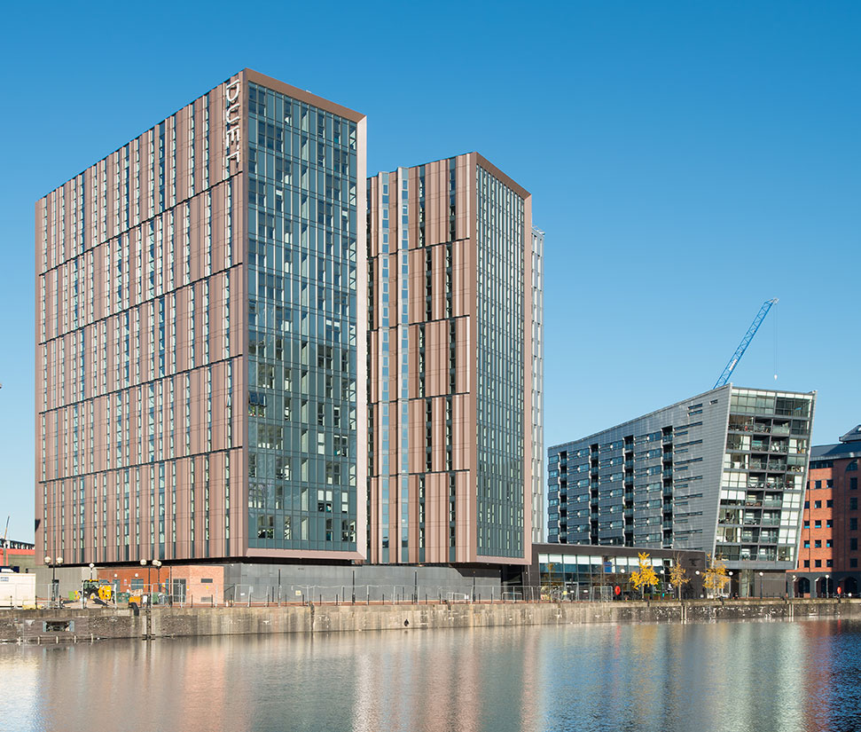 BTR Towers, Erie Basin, Salford Quays