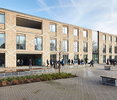 John Roan School, London: John McAslan + Partners